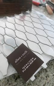 diy kitchen backsplash modish main allen roth melted lava pearl glass mosaic indoor outdoor wall tile