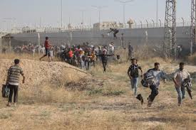 Image result for human trafficking border syria