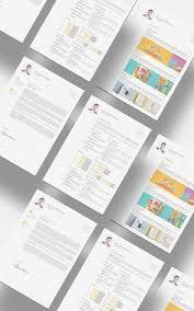 Free Cv Resume Free CV Resume Set Template Free Design Resources 98