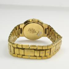 men s gucci gold plated watch property room men s gucci gold plated watch