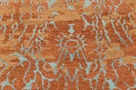 teal and orange rug uk c reef wool silk rugs contemporary 8 teal blue and orange rugs