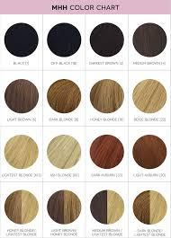 Color Chart Myhalohair