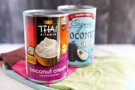 I like to add vanilla extract or even coconut extract to bump up the tropical flavor. Coconut Milk Cream And Water