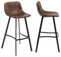 antoni faux croc bar stools set of 2 30