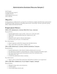Resume For Medical Internship Admin Resume Objective Examples Of Resumes Healthcare Administration