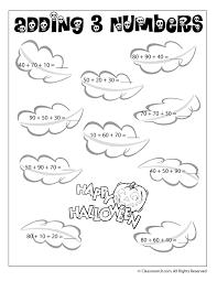 Math Worksheets for Grade 1 Halloween | Homeshealth.info