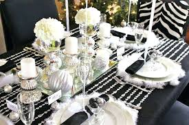 Black And White Ball Decorations