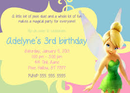 Tinkerbell Invitations Printable Tinkerbell Invitation Magdalene Project Org