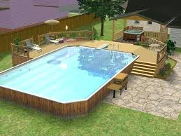 above ground swimming pool designs. Above Ground Pools Deck Designs Pool Ideas Swimming .