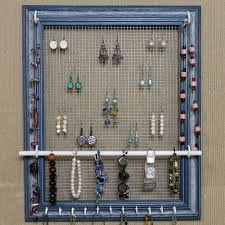 Jewelry Wall Organizer Ideas Wall Mounted Jewelry Organizer Rhama Home Decor