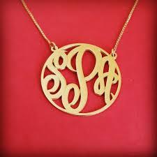 small monogram necklace mini monogram necklace 18k gold monagram necklace tiny monogram necklace birthday gift monogram gold initials