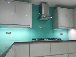 glass splashbacks for kitchens blue glass coloured glass splashbacks kitchens uk