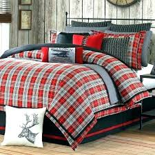 black and white buffalo check bedding red medium size of crib coverlet