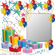 105 best birthday frames images on birthday frames