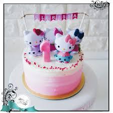 Hello Kitty Chocolate Birthday Cake Also Hello Kitty Birthday Cake