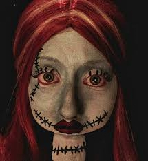 makeup tutorials costume ideas and party planning the sally nightmare before makeup tutorials