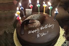 write name on chocolate happy birthday