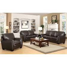 Top Grain Leather Living Room Set 3 Gray Living Room Furniture Sets Under 800 The Package Club