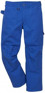 Fristads Kansas Essential 300g Workers Work Trousers Royal Blue