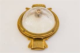 Very Rare Exceptional Wall Lamp Attributed To Joseph Maria Olbrich