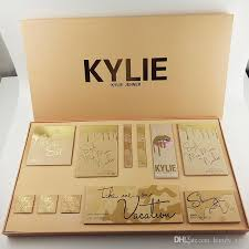 kylie makeup gift bag liquid lipstick box take me love on vacation kylie jenner cosmetics lip kit summer eyeshadow loose powder collection makeup and vanity
