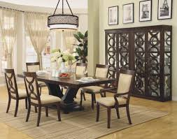Modern Dining Room Design Classic Modern Dining Room Design With Rectangle Wood Black