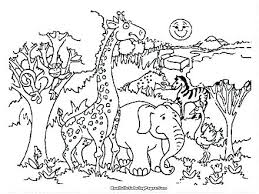 Zoo Coloring Sheets Printable Zoo Animal Coloring Sheets Printable