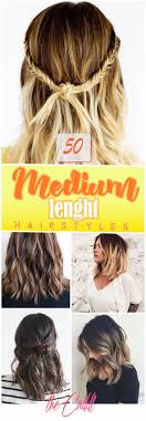 50 Pretty Chic Medium Lenght Hairstyles For 2019