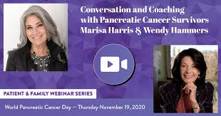 Conversation and Coaching with Pancreatic Cancer Survivors Marisa Harris & Wendy  Hammers - Hirshberg Foundation for Pancreatic Cancer Research