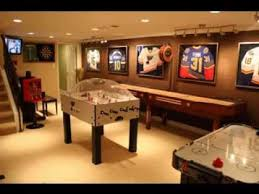 Game Room Ideas For Basements Model
