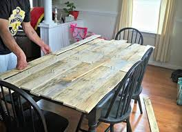 Pallet Kitchen Table For Your Dining Area Wooden Pallet Furniture Plus  Purple Dining Table Inspiration