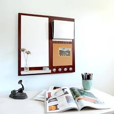 magnetic wall organizer message center cork board magnetic white office