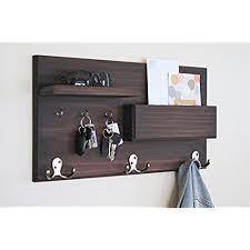 minimalistic furniture. Wall Mounted Entryway Coat Rack Floating Shelf With Key Hooks Minimalistic Furniture I