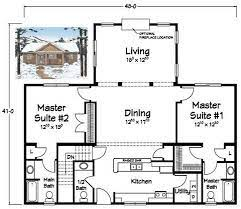 dual master bedrooms house plans
