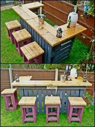 outside patio designs best 25 diy outdoor bar ideas on pinterest deck decorating