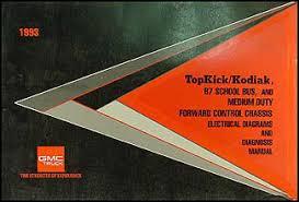 1993 medium duty wiring diagram manual factory reprint kodiak 1993 medium duty wiring diagram manual kodiak topkick fc b7 school bus original