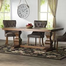 lark manor parfondeval extendable wood dining table reviews extendable wooden dining table