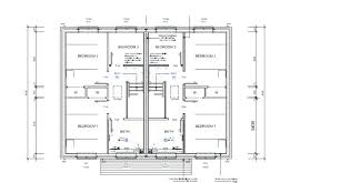 Plan For Two Bedroom Flat Two Bedroom Semi Detached House Plan 2 Bedroom  Flat Plans South Plan Of Four Bedroom Flat