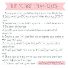 Editable Birth Plan Template Birth Plan Template For Scheduled C Section Sheet Printable Uk Vbac