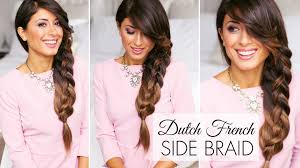 Luxy Hair Style dutch french side braid youtube 3141 by wearticles.com