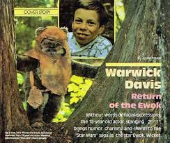 Davis is known for playing the title characters in willow and the leprechaun series of films; I Coatee Cha I Warwick Davis Will Appear In Star Wars Episode Vii