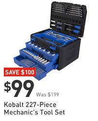 palm sander lowes. save $100. kobalt 227-piece mechanic\u0027s tool set. $99 was $199. palm sander lowes