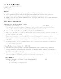 Resume With Little Work Experience Sample Amazing Sample Resume Nurses Putasgae