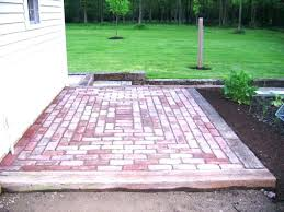 Brick Patio Patterns Unique Brick Patio Patterns Beginners Double Basket Weave Pattern Medium