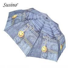 <b>Susino Windproof Umbrella 8</b> Ribs Semi automatic Open Manual ...