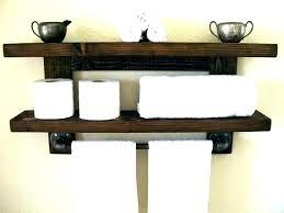 wood towel shelf floating wood ves bathroom towel f rack wall reclaimed wood bathroom towel racks wood towel shelf