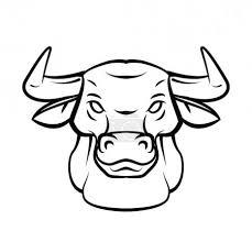 Vektor Býčí Hlava Tetování Vektorové Ilustrace 54806051 Fotobanka