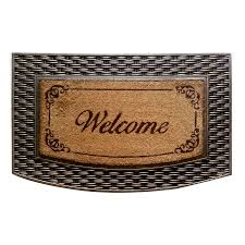 Semi Circle Door Mats - Home Design Ideas and Pictures