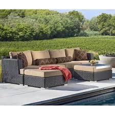 Niko 6piece Patio Deep Seating Modular Sectional By Sirio Niko Outdoor Furniture