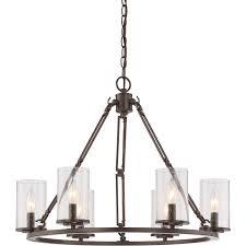 quoizel buchanan chandelier american craftsman style lighting